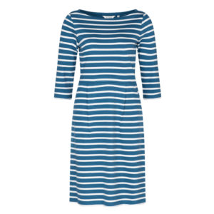 maritim gestreiftes Kleid aus Bio-Baumwolle/ nautical stripy dress made from organic cotton