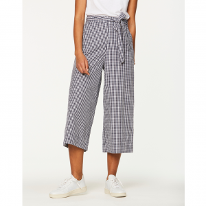 Culotte-Hose mit Vichy-Muster